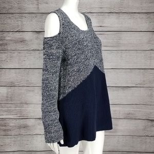 NWT Style & Co M Cold Shoulder Pullover Sweater
